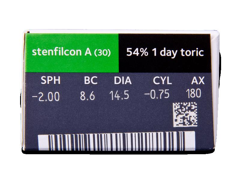 MyDay daily disposable toric (30 lentilles)