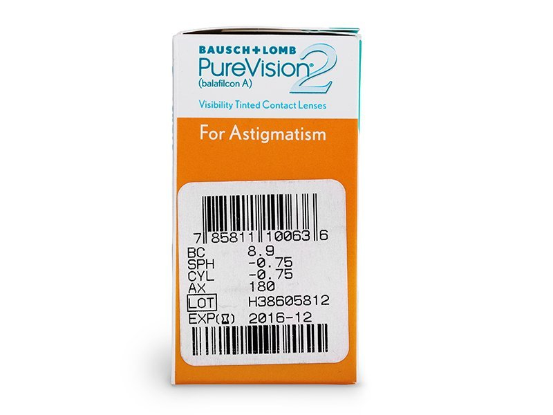 PureVision 2 for Astigmatism (6 lentilles)