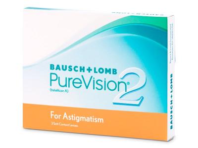 PureVision 2 for Astigmatism (3lentilles)