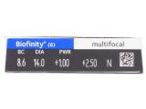 Biofinity Multifocal (6lentilles)