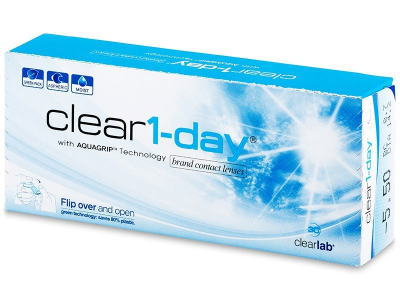 Clear 1-Day (30 lentilles)