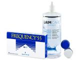 alensa.fr - Lentilles de Contact pas chères en ligne - Frequency 55 (6lentilles)