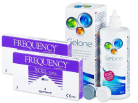 FREQUENCY XCEL TORIC (2x3 lentilles) + Gelone 360 ml