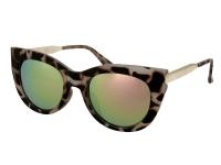 alensa.fr - Lentilles de Contact pas chères en ligne - Lunettes de soleil Alensa Cat Eye Havana Miroir Rose