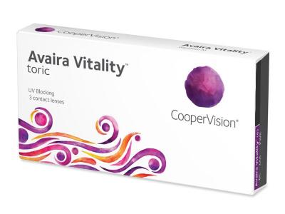 Avaira Vitality Toric (3 lentilles)