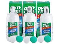 alensa.fr - Lentilles de Contact pas chères en ligne - OPTI-FREE Express 3 x 355 ml