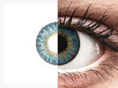 Lentilles de contact effet naturel Bleu - Air Optix (2lentilles)