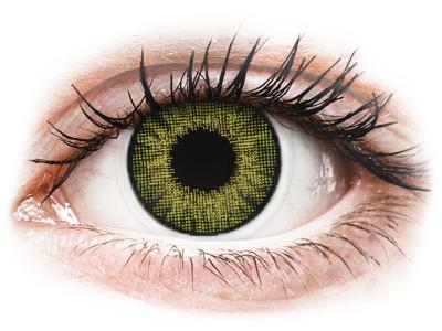 Lentilles de contact effet naturel Vert Gemstone Green- correctrices - Air Optix (2lentilles)