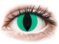 alensa.fr - Lentilles de Contact pas chères en ligne - Lentilles de contact Vert Anaconda - ColourVue Crazy