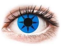 alensa.fr - Lentilles de Contact pas chères en ligne - Lentilles de contact Bleu Blue Star - ColourVue Crazy