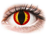 alensa.fr - Lentilles de Contact pas chères en ligne - Lentilles de contact Rouge Dragon Eyes - ColourVue Crazy