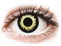 alensa.fr - Lentilles de Contact pas chères en ligne - Lentilles de contact Noir Eclipse - ColourVue Crazy