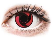 alensa.fr - Lentilles de Contact pas chères en ligne - Lentilles de contact Rouge Mangekyu - ColourVue Crazy