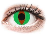 alensa.fr - Lentilles de Contact pas chères en ligne - Lentilles de contact Vert Raptor - ColourVue Crazy