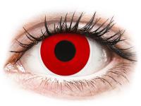 alensa.fr - Lentilles de Contact pas chères en ligne - Lentilles de contact Rouge Red Devil - ColourVue Crazy