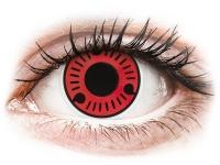 alensa.fr - Lentilles de Contact pas chères en ligne - Lentilles de contact Rouge Sasuke - ColourVue Crazy