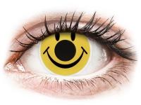 alensa.fr - Lentilles de Contact pas chères en ligne - Lentilles de contact Jaune Smiley - ColourVue Crazy