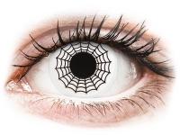 alensa.fr - Lentilles de Contact pas chères en ligne - Lentilles de contact Noir et Blanc Spider - ColourVue Crazy