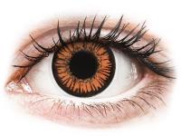 alensa.fr - Lentilles de Contact pas chères en ligne - Lentilles de contact Orange Twilight - ColourVue Crazy