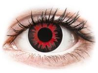 alensa.fr - Lentilles de Contact pas chères en ligne - Lentilles de contact Rouge Vulturi - ColourVue Crazy