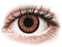 alensa.fr - Lentilles de Contact pas chères en ligne - Lentilles de contact Rouge Vampire - ColourVue Crazy