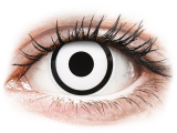 alensa.fr - Lentilles de Contact pas chères en ligne - Lentilles de contact Blanc White Zombie - ColourVue Crazy
