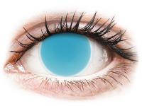 alensa.fr - Lentilles de Contact pas chères en ligne - Lentilles de contact Bleu Glow Electric Blue - ColourVue Crazy