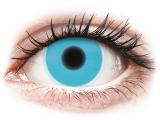 alensa.fr - Lentilles de Contact pas chères en ligne - Lentilles de contact Bleu Glow - ColourVue Crazy