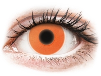 alensa.fr - Lentilles de Contact pas chères en ligne - Lentilles de contact Glow Orange - ColourVue Crazy