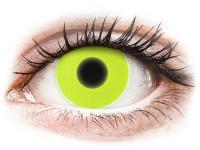 alensa.fr - Lentilles de Contact pas chères en ligne - Lentilles de contact Jaune Glow - ColourVue Crazy