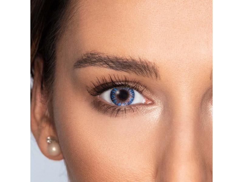 Lentilles de contact Bleu - TopVue Color (10lentilles journalières)