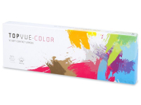 Lentilles de contact Gris - TopVue Color (10lentilles journalières)