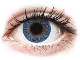 alensa.fr - Lentilles de Contact pas chères en ligne - Lentilles de contact Bleu True Sapphire - correctrices - TopVue Color