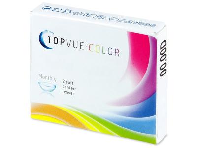 TopVue Color - Green - non correctrices (2 lentilles)