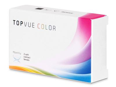 TopVue Color - Turquoise - non correctrices (2 lentilles)