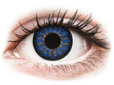 alensa.fr - Lentilles de Contact pas chères en ligne - Lentilles de contact Bleu - ColourVUE Glamour
