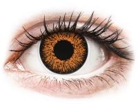 alensa.fr - Lentilles de Contact pas chères en ligne - Lentilles de contact Orange Honey - ColourVUE Glamour - correctrices
