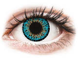 alensa.fr - Lentilles de Contact pas chères en ligne - Lentilles de contact Bleu - ColourVUE Elegance