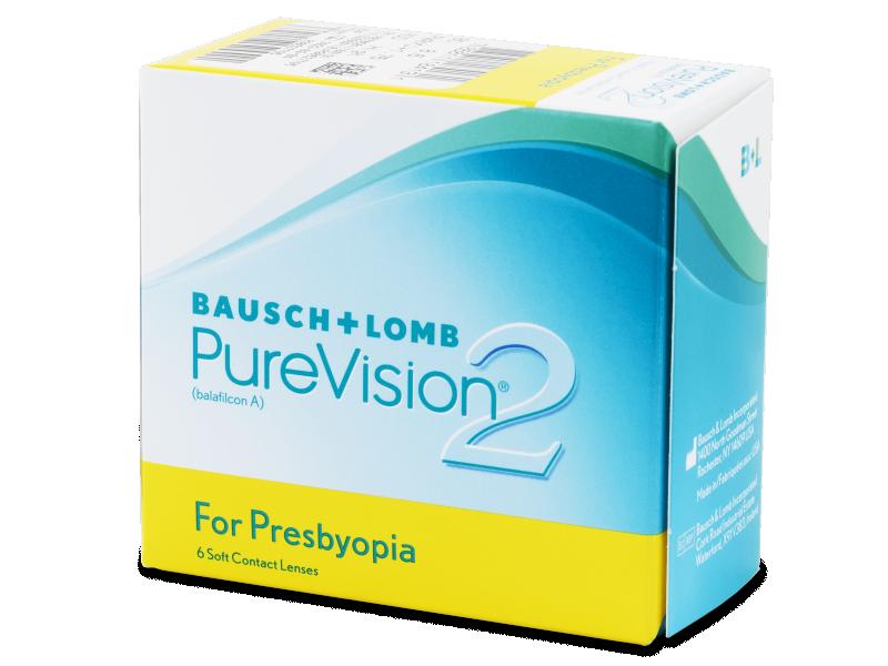 PureVision 2 for Presbyopia (6 lentilles)