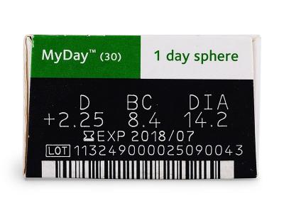 MyDay Daily Disposable (30lentilles)