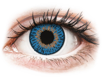 alensa.fr - Lentilles de Contact pas chères en ligne - Lentilles de contact Bleu Foncé Expressions Colors