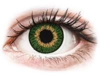 alensa.fr - Lentilles de Contact pas chères en ligne - Lentilles de contact Vert Expressions Colors - correctrices