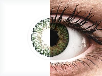 FreshLook ColorBlends Gemstone Green - non correctrices (2 lentilles)
