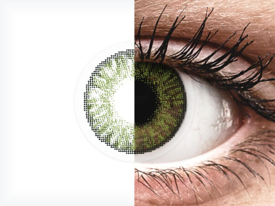 FreshLook ColorBlends Green - correctrices (2 lentilles)