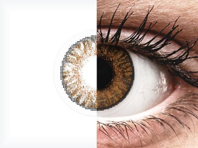 FreshLook ColorBlends Honey - correctrices (2 lentilles)