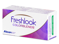 FreshLook ColorBlends Pure Hazel - correctrices (2 lentilles)