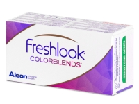FreshLook ColorBlends Turquoise - non correctrices (2 lentilles)