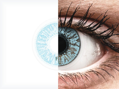 FreshLook Colors Blue - correctrices (2 lentilles)