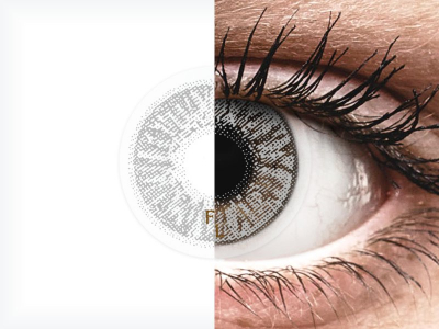 FreshLook Colors Misty Gray - correctrices (2 lentilles)