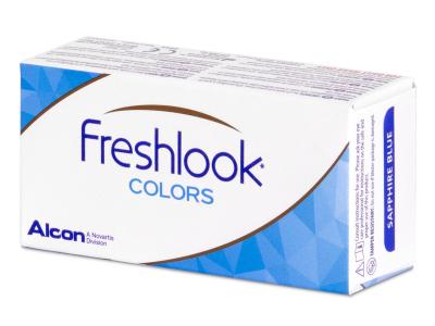 FreshLook Colors Hazel - non correctrices (2 lentilles)